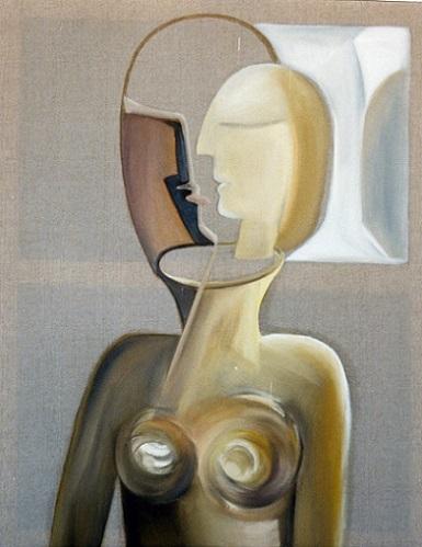 -silence- 2004  huile sur toile  92x73cm (499x385px)