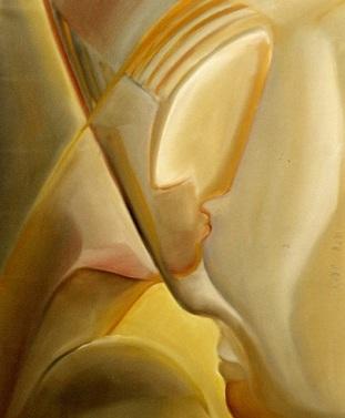 Voyages 2005 huile sur toile  65 x 54 cm (490x404px)