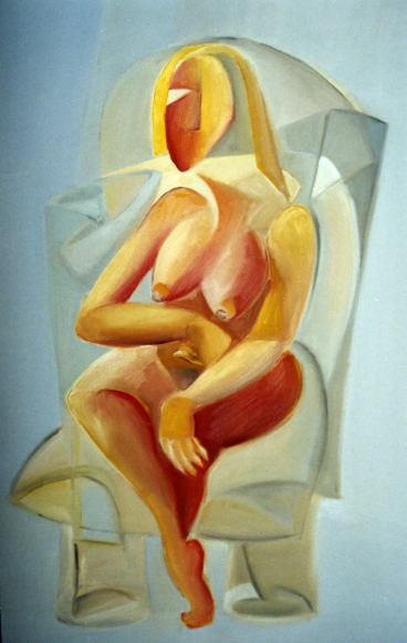 Femme Assise 2004