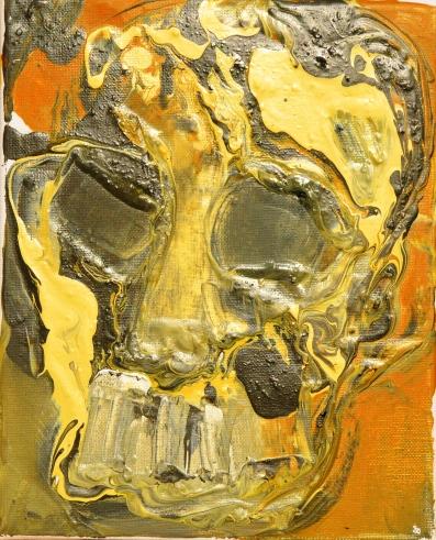 Vanitas VIII Huile sur toile 27 x 22 cm