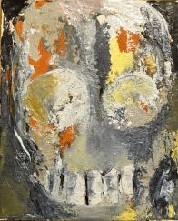 Vanitas I Huile sur toile 27 x 22 cm