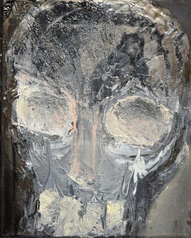 Vanitas IX Huile sur toile 27 x 22 cm