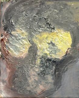 Vanitas VI Huile sur toile 27 x 22 cm