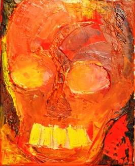 Vanitas VII Huile sur toile 27 x 22 cm