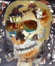Vanitas-12 Huile sur toile 62 x 52 cm