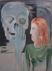 De Chair et d'Os-15 Huile sur toile 136 x 100 cm