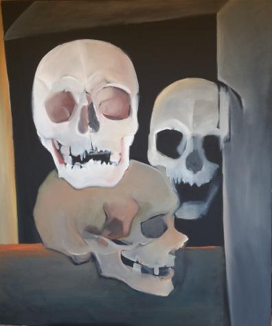 De Chair et d'Os-16 Huile sur toile 130 x 110 cm