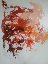 Vanitas-18 huile sur toile 146 x 116 cm