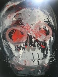 Vanitas-23 Huile sur toile 120 x 110 cm