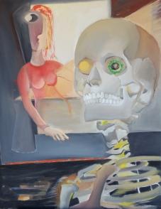 De Chair et d'Os-7 Huile sur toile 92 x 73 cm
