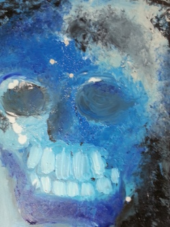 Vanitas-9 Huile sur toile 92 x 73 cm