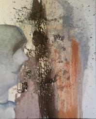 De Chair et d'Os-29 Huile sur toile 92 x 73 cm