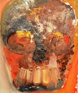 Vanitas - 13  Huile sur toile  65 x 54 cm