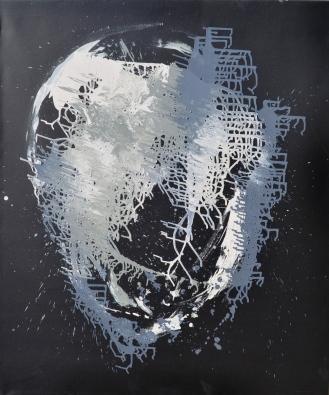 Vanitas-25 Huile sur toile 130 x 110 cm