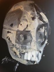 Vanitas-31 Huile sur toile 110 x 92 cm