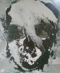 Vanitas-32 Huile sur toile 55 x 45 cm